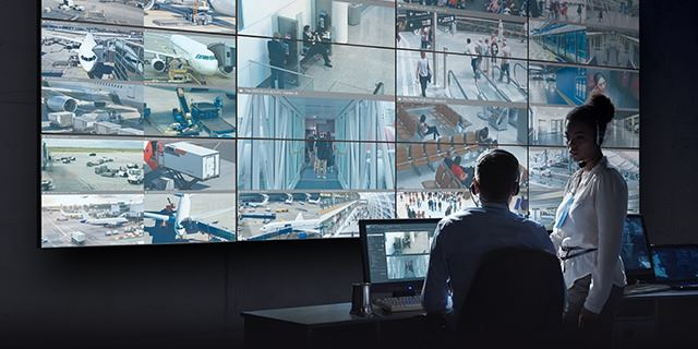 Video Wall Management plug-in for Milestone XProtect Security Surveillance
