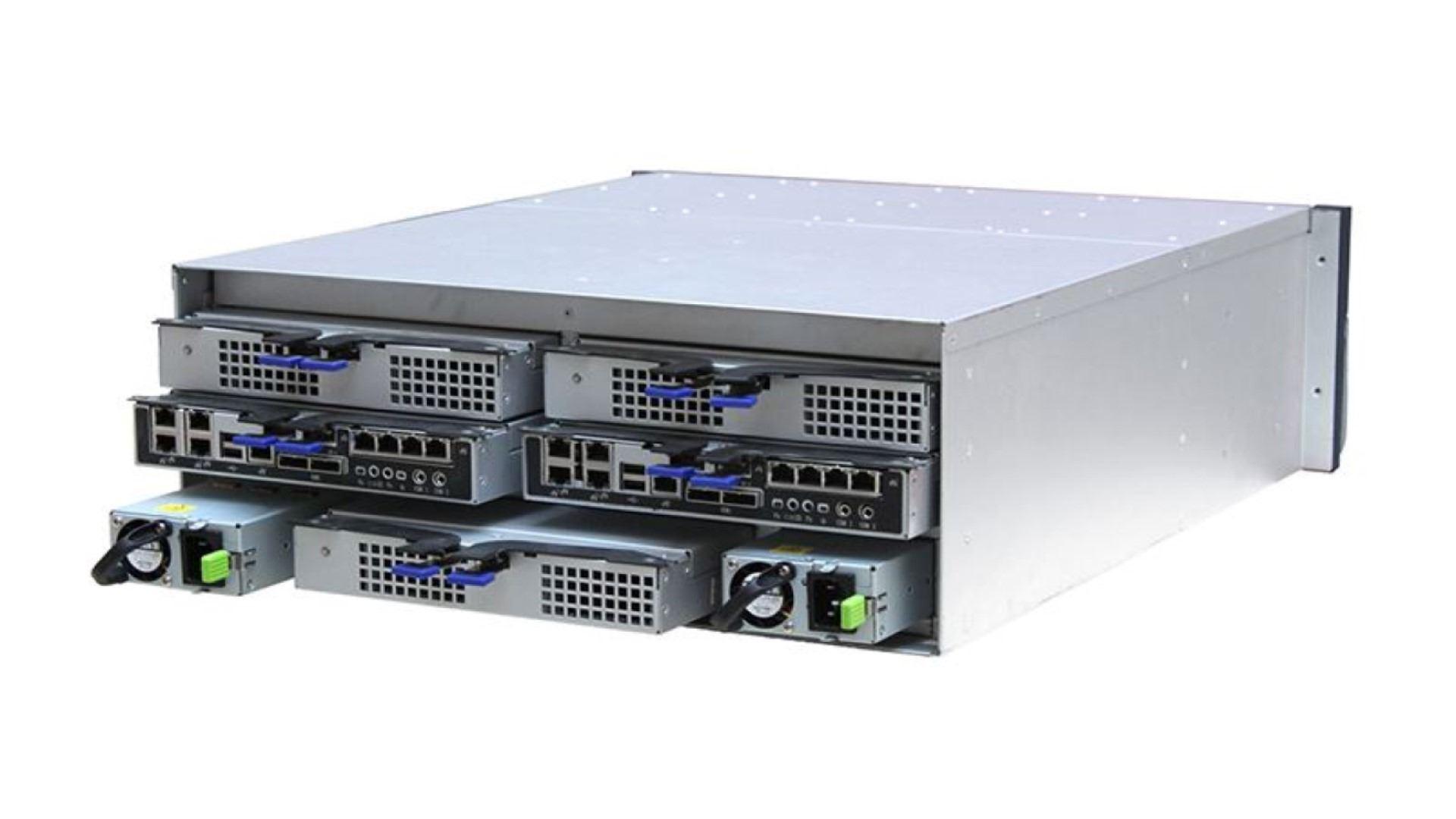 Hybrid IPSAN Storage for Milestone XProtect