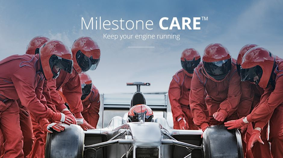Milestone Care Fromula 1 cars banner